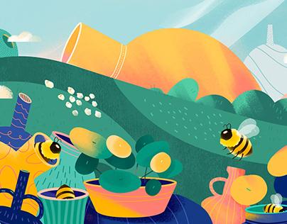 The Island - Illustration