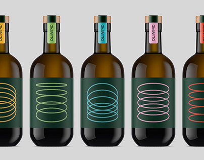 Olimpic - Extra Virgin Olive Oil Packaging Concept