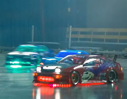 Falken Tire: Ultimate Dark Night RC Drifting