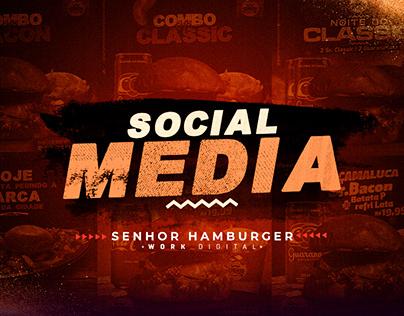 Social Media - Sr. Hamburger
