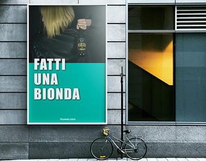 Advertising beer // Flussen