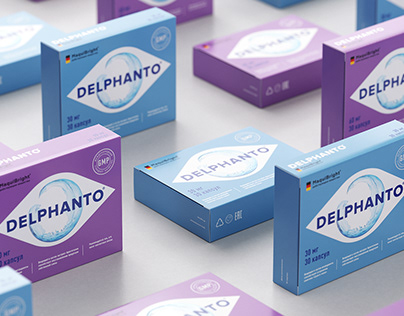 Delphanto package design