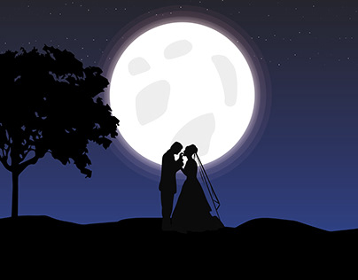 Married near the moon