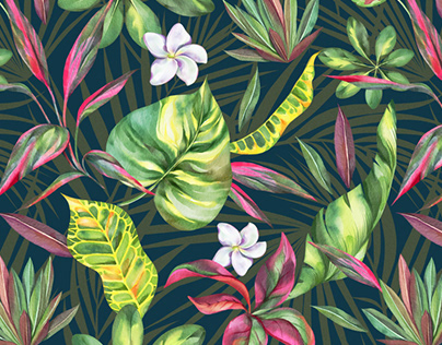 Tropical botany / Pattern collection