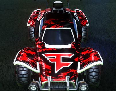 FaZe Clan Rocket League Decals
