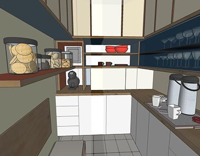 Renovação e armários de Cozinha