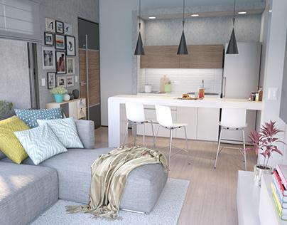 Interior Design Apartment 103