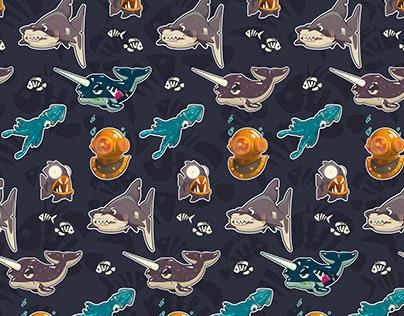 Spooky Sea Pattern