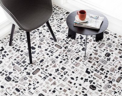 Contract Carpet Pattern Design