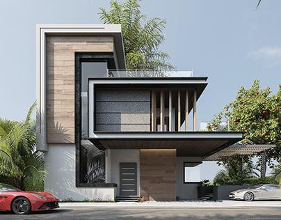 Exterior Design _ Modern Villa