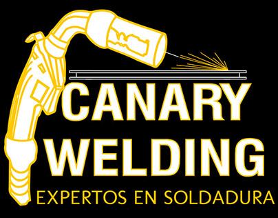 Imagotipo diseñado para Canary Welding