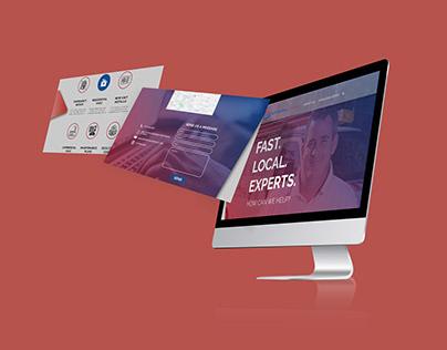 UI Design for a company