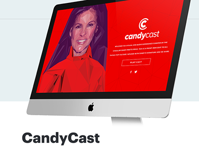 CandyCast: High Poly Illustration