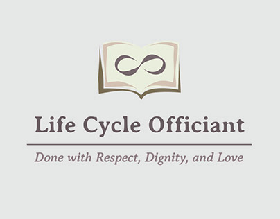 Life Cycle Officiant - Business Card/ Logo Design