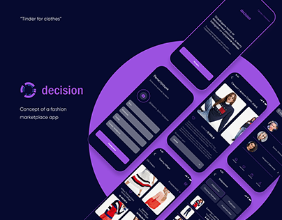 Decision mobile app concept
