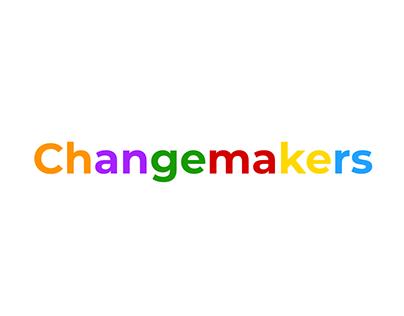 Changemakers UI/UX/Logo