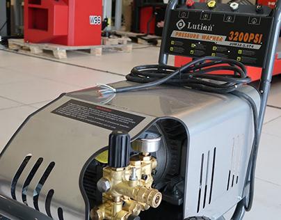 Khám phá công năng của máy rửa xe Lutian 1750psi