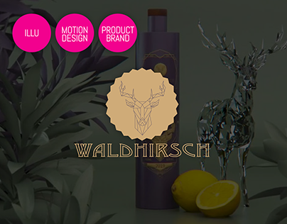 GIN WALDHIRSCH | Illu, Product- & Motion Design
