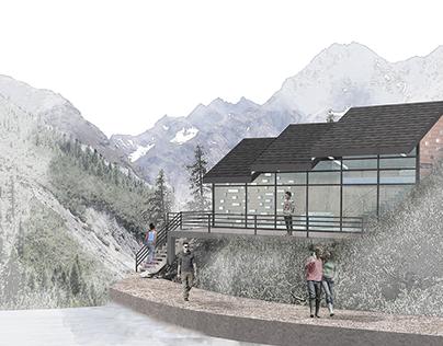 Swiss Alps Cabin