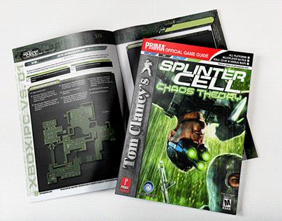 Splinter Cell - Strategy Guide Illustrations