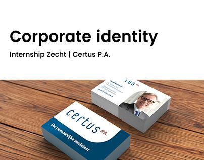 Corporate identity   Certus P.A.   Zecht