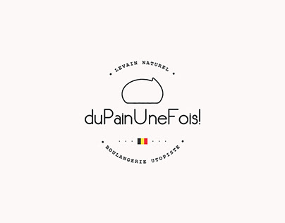 Minimal logo for a fresh and organic bakery