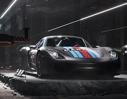 Porsche 918 Spyder | Full CGI