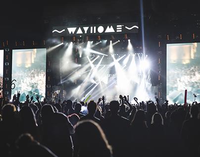 WayHome Music & Arts Festival // Branding & Design