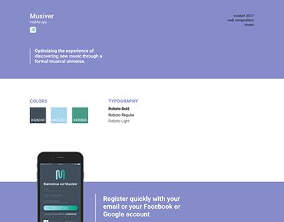 Musiver - UX/UI Design