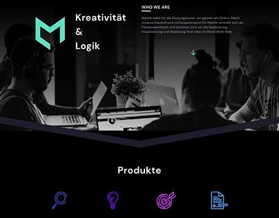 Mantik - Website Design & Programming