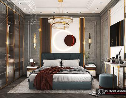 Neo Classic Master Bedroom Design