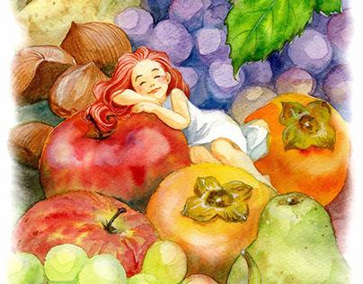 Autumn Fruits / 秋天的水果