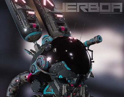 3D concept / game modeling - CGI - Jerboa