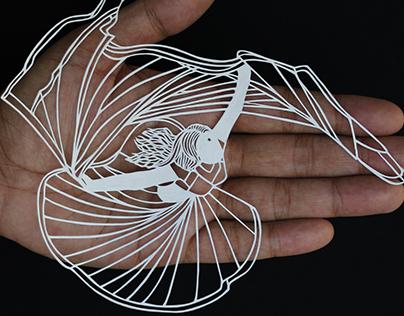 Papercut - Papercutting - Papercraft - Parth kothekar