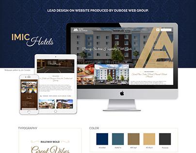IMIC Hotels Website Design