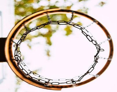 Focus on the hoop