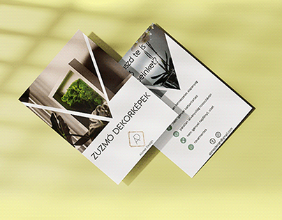 Petite branding for moss art company