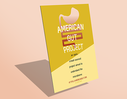American Gut Project - Poster & Flyer