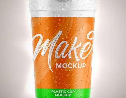 Mockup de copo de plástico Mockup Copo – Cup Mockup