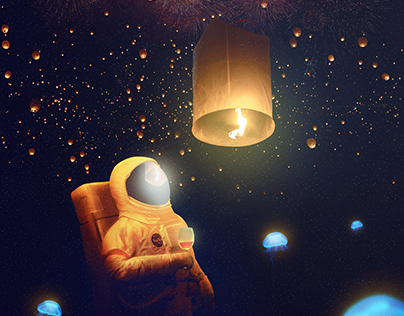 Day 6 : Astronaut Celebrate the World