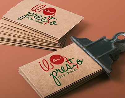 Branding il presto Restaurant