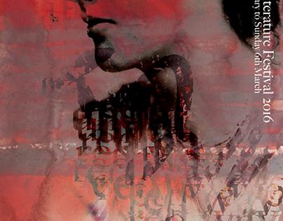 Poster Design - The Bath Literature Festival
