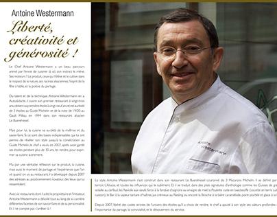 Antoine Westermann press kit