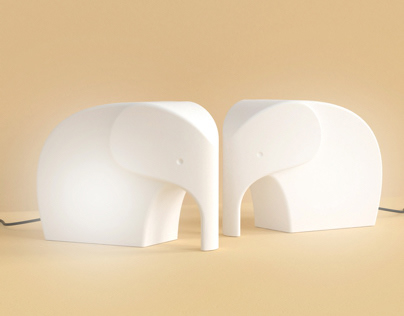 Kenny The Elephant Table Lamp