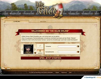 The Guild 1400 - UX / UI Design