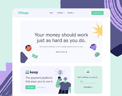Village x Keep App