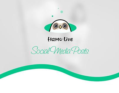 Hamo Live Designs Social Media