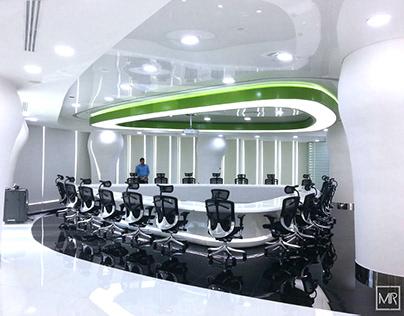 ETISALAT UAE HEAD QUARTERS CONFERENCE ROOM