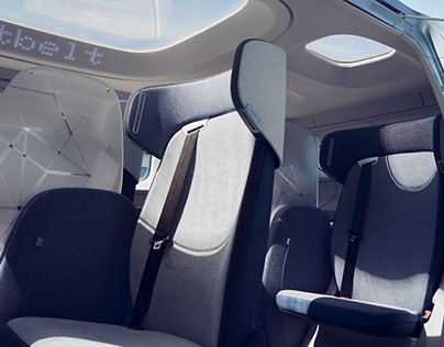NEVS SANGO Seat Design / Autonomous shared mobility