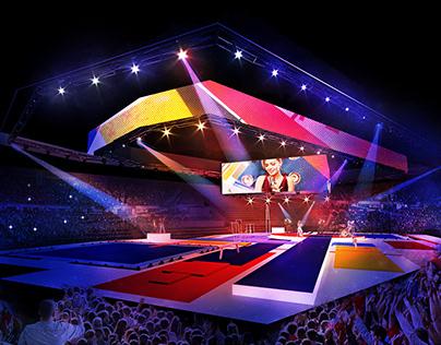 """""""Sports Legends"""" Gymnastic show by Alexey Nemov"""